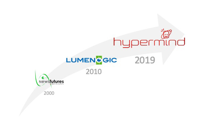 Newsfutures became Lumenogic, which became Hypermind